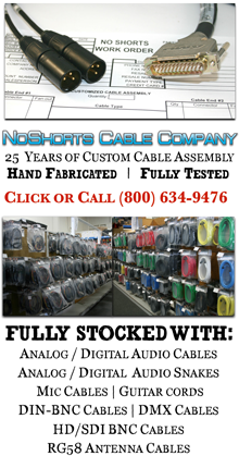 NoShorts Cable Company - Check Out What's In Stock
