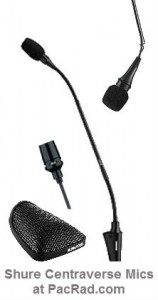 Centraverse Microphones from Shure at PacRad.com