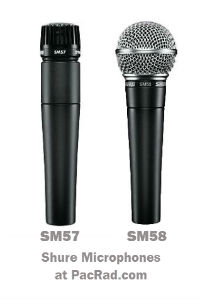 Microphones for musicians