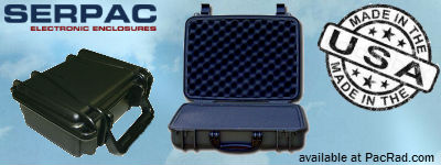 Serpac Cases for electronics, and audio visual equipment are made in America
