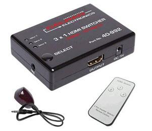 calrad hdmi switcher