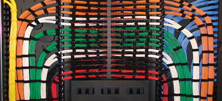 Cable Management for Data Centers