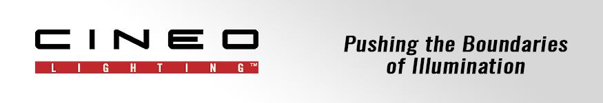 Cineo Lighting AV Lighting Products at Pacific Radio Electronics