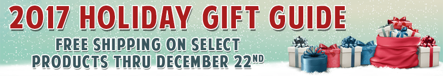 Pacific Radio Electronics -  2017 Holiday Gift Guide