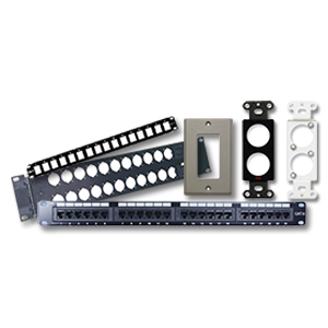 Patch Panels & Wall Plates
