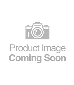 Vanco 120612X Custom Two-Piece Bulk Cable Wall Plate (Single Gang) - Black
