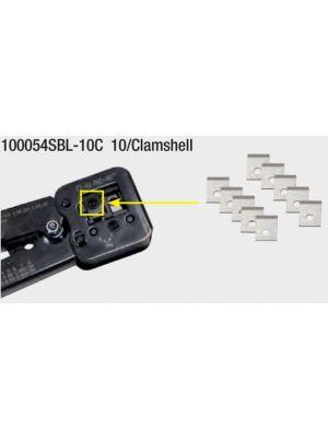 Platinum Tools 100054SBL-10C Replacement Blades for EZ-RJPRO HD Crimp Tool