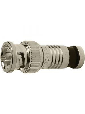 Platinum Tools 18038 BNC-Type Nickel SealSmart Coaxial RG6 Connector