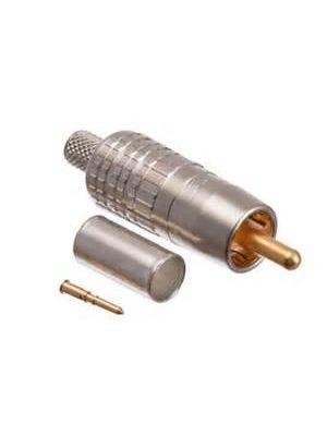 Canare RCAP-C53 75 ohm RCA Crimp Plug