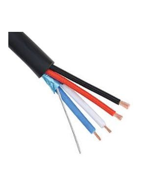 Belden 1502R Multi-Conductor Multimedia Control Cable - 22 AWG (Black)