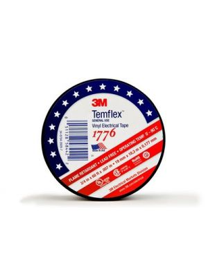 3M 1776 Temflex 3/4-Inch Vinyl Electrical Tape (‎60 FT)