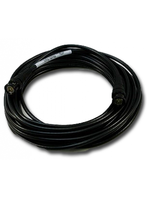 NoShorts 1855ABNC12BLK HD-SDI Mini Coax BNC Cable (12 FT - Black)