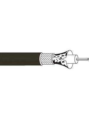 Belden 1855P Sub-Miniature Plenum Digital Video Coax Cable (Black)
