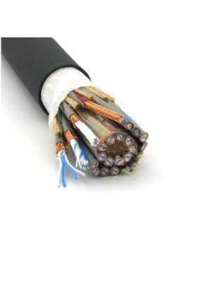Canare L-4E3-24P 24-Channel Star Quad Microphone Cable - 25 AWG (Black)