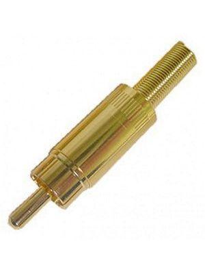 Calrad 30-390 Inline RCA Plug (2 Pack)