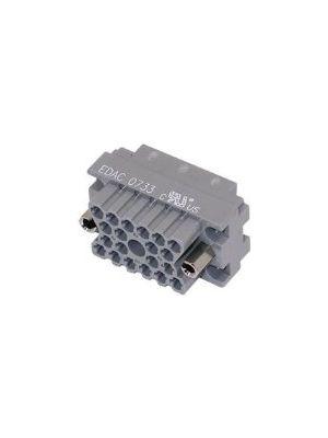 EDAC 516-020-000-402 Female Rack & Panel Connector