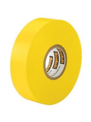 3M 35-1/2-4 Scotch Professional Vinyl Electrical Tape Yellow