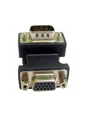 Calrad 35-704 Right Angle DB15 VGA Adapter