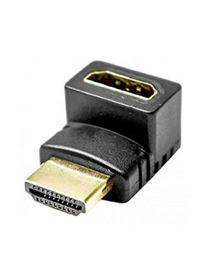 Calrad 35-714 HDMI Female to Male Right Angle Adapter