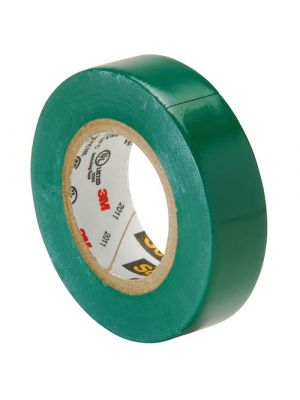 3M 35-1/2-5 Scotch Professional Vinyl Electrical Tape Green