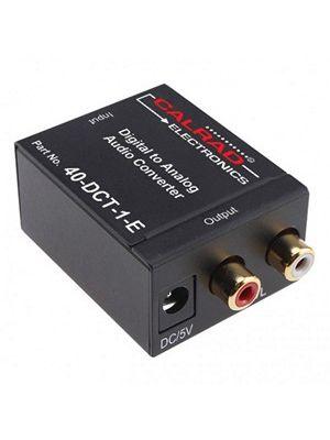 Calrad 40-DCT-1-E Digital to Stereo Audio Converter