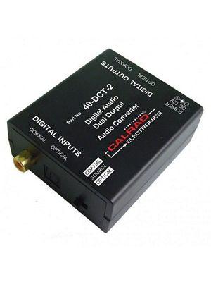 Calrad 40-DCT-2 2 Way Output Digital Audio Converter
