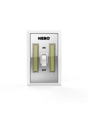 NEBO Tools 6523 FlipIt 215 Lumen LED Light Switch (2 Pack)