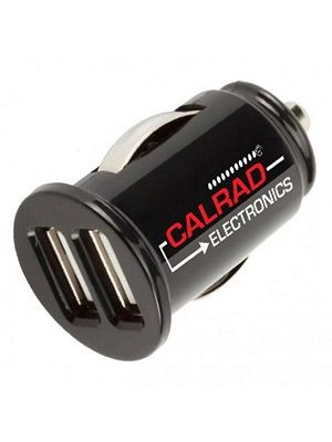Calrad 42-CAR-3 Two USB Ports Car Charger