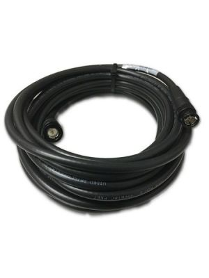 NoShorts RG6 Size 12G-SDI / 4K Precision Video BNC Cable - Black (6 FT)