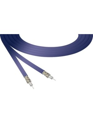 Belden 4855R 12G-SDI 4K Ultra-High-Definition Blue Mini-Coax Cable - 23 AWG (1000 FT Roll)