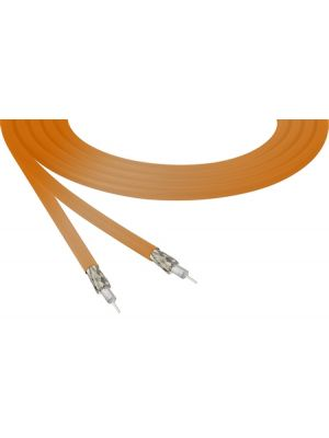 Belden 4855R 12G-SDI 4K Ultra-High-Definition Orange Mini-Coax Cable - 23 AWG (1000 FT Roll)