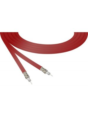 Belden 4855R 12G-SDI 4K Ultra-High-Definition Red Mini-Coax Cable - 23 AWG (By The Foot)