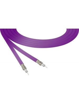 Belden 4855R 12G-SDI 4K Ultra-High-Definition Violet Mini-Coax Cable - 23 AWG (1000 FT Roll)