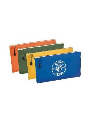 Klein Tools 5140 Zipper Bags-Canvas, 4-Pack