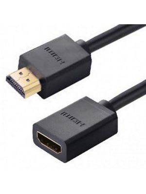 Calrad 55-644A-HS-6IN Male to Female HDMI Extension Cable (6 IN)