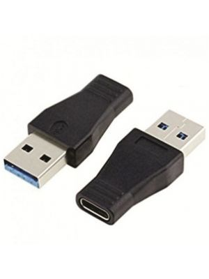 Calrad 72-277 USB 3.0 (USB 3.1 Gen 1) Type 'A' Male to Type 'C' Female Adapter