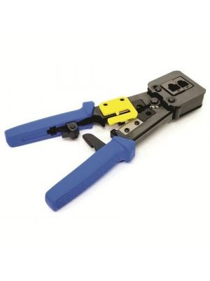Calrad 72-RJ45tool 6P RJ11, RJ12 and 8P EZ Pass Through RJ45 Crimping Tool