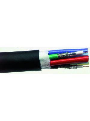 Belden 7798A VideoFLEX Snake - RG59 - 10 Bundled 1505A - 20AWG (Black)