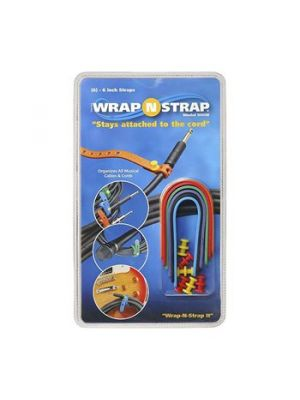 Wrap-N-Strap 906M Mixed Color Cable Wraps (6 Pack)