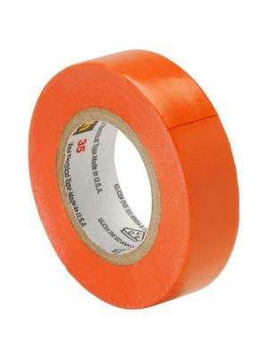 3M 35-1/2-3 Scotch Professional Vinyl Electrical Tape Orange
