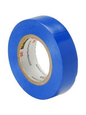 3M 35-1/2-1 Scotch Professional Vinyl Electrical Tape Blue
