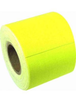 American Recorder GAFFER2INMINI-YL Mini Roll Florescent Yellow Gaffers Tape (2IN)
