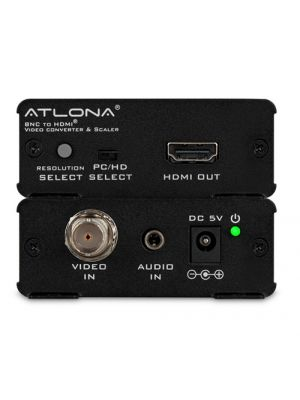 Atlona AT-HD120 Composite Video and Stereo Audio to HDMI Video Format Converter and Scaler