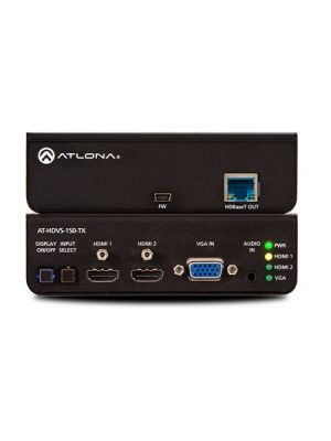 Atlona AT-HDVS-150-TX Three-Input Switcher for HDMI and VGA with HDBaseT Output
