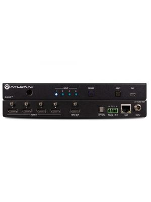 Atlona AT-JUNO-451 4K HDR Four-Input HDMI Switcher with Auto-Switching and Return Optical Audio