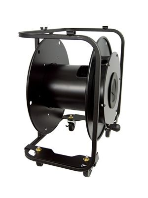 Hannay Reels AVF-18C Broadcast Optical Cable Storage Reel w/ Casters