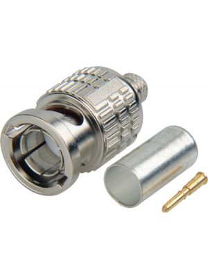 Canare BCP-B31F 75 Ohm Straight Type BNC Crimp Connector For L-3CFW