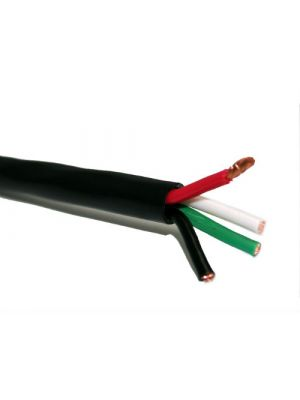 Belden 1312A Multi-Conductor Speaker Cable - 12 AWG (by the foot) - Black