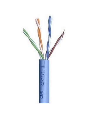 Belden 1583A Multi-Conductor Category 5e Nonbonded 4-Pair Cable - 24 AWG (by the foot) - Blue