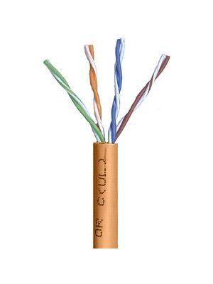 Belden 1583A Multi-Conductor Category 5e Nonbonded 4-Pair Cable - 24 AWG (by the foot) - Orange